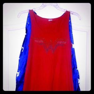 Wonder woman t-shirt dress